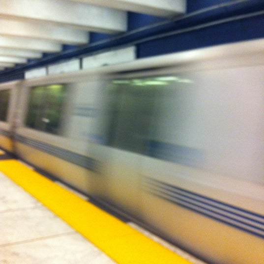 Photo taken at Civic Center/UN Plaza BART Station by Rika P. on 8/18/2012