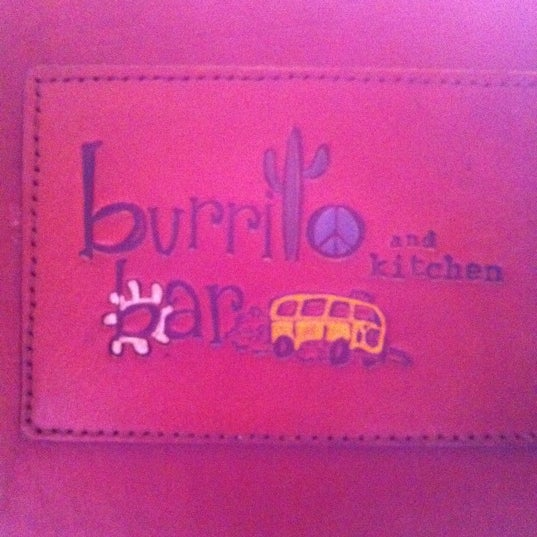 Photo taken at Burrito Bar & Kitchen by Susan . on 8/30/2011