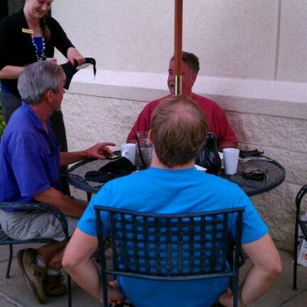 Photo taken at Mariscos Restaurant by Karen S. on 8/18/2012