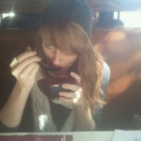 Photo taken at Sushi Cafe by Haley M. on 1/13/2012