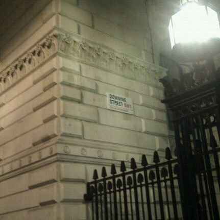 Photo taken at 10 Downing Street by Kevin W. on 12/13/2011