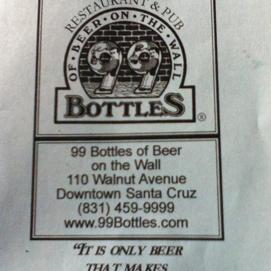 Photo taken at 99 Bottles of Beer on the Wall by Lisa Z. on 1/28/2012