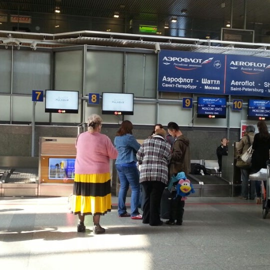Photo taken at Check-in desk by Masяnя on 9/8/2012