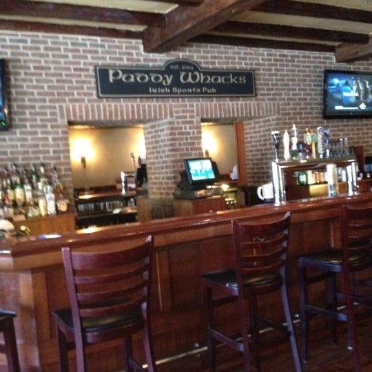 Photo taken at Paddy Whacks Irish Sports Pub by Barry L. on 5/28/2012