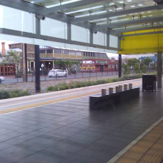 Photo taken at Entertainment Centre Tram Stop by Willem G. on 10/14/2011