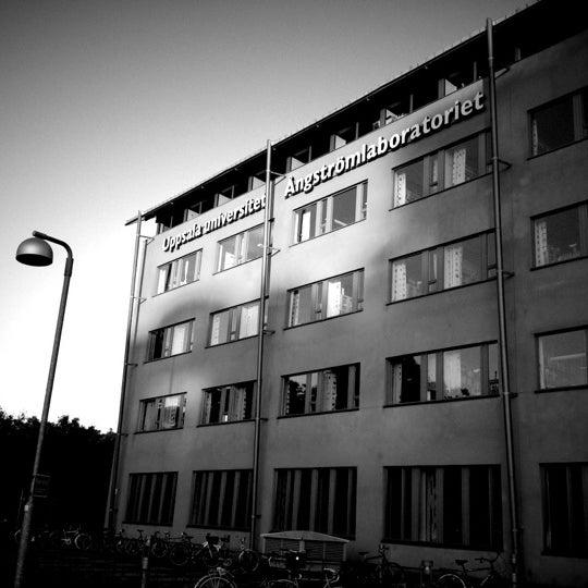 Снимок сделан в Ångströmlaboratoriet пользователем Nick M. 7/26/2012