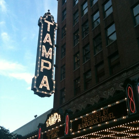Photo taken at Tampa Theatre by Nate D. on 10/15/2011