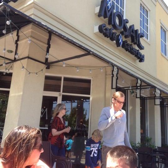 Photo taken at MOSAIC Restaurant Charleston by Roger P. on 4/11/2012