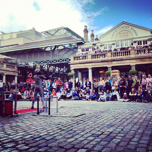 Photo taken at Covent Garden Market by Matteo D. on 6/24/2012