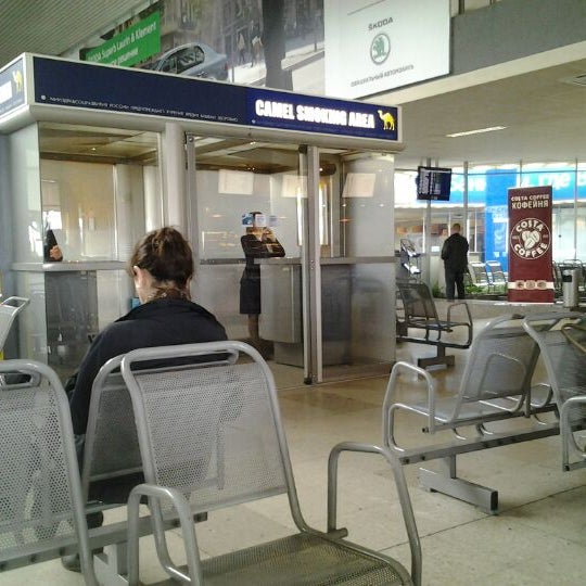 Photo taken at Check-in desk by Anton C. on 4/29/2012