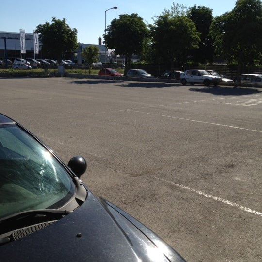 Photo taken at Parcheggio Via Sassonia by Namer M. on 6/15/2012