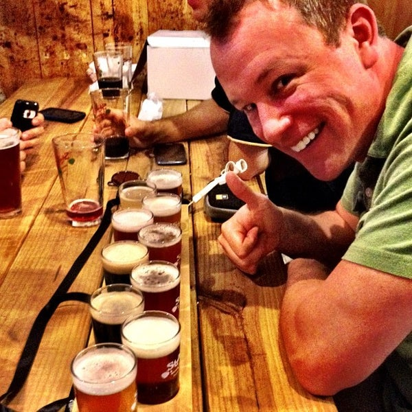 Photo taken at Strange Craft Beer Company by Leonardo D. on 8/26/2012
