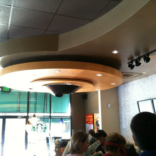 Photo taken at Starbucks by Andrea S. on 4/22/2012