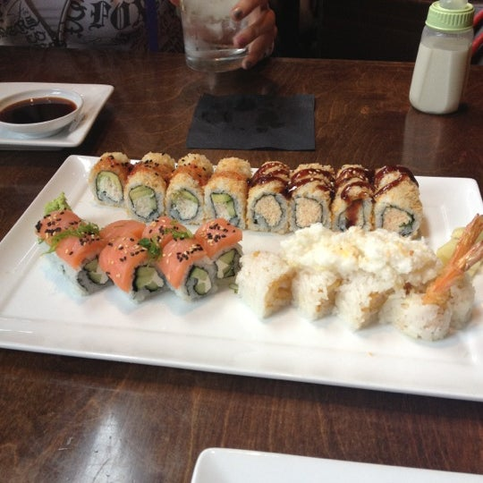 Photo taken at Blue Sushi Sake Grill by Kayla R. on 5/23/2012