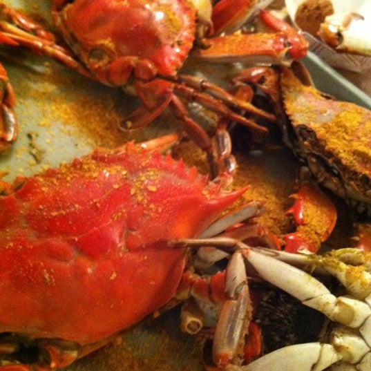 Photo taken at May's Crab & Seafood by Mike on 4/28/2012