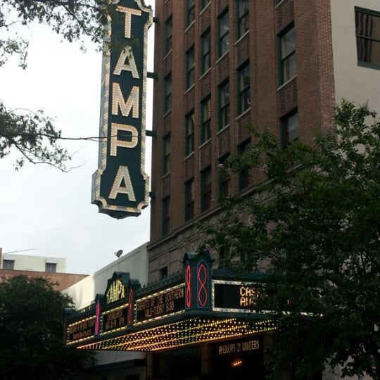 Photo taken at Tampa Theatre by Diana B. on 8/19/2012