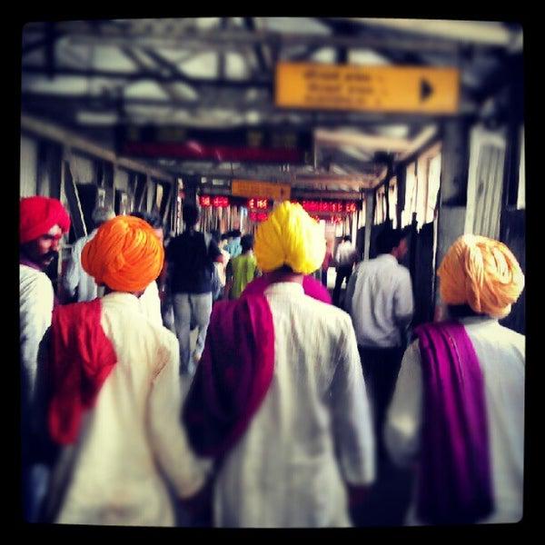 Photo taken at Dadar Railway Station by gaurav s. on 6/7/2012