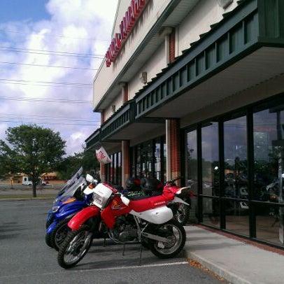 Photo Taken At Honda Yamaha Of Savannah By Tara K. On 5/3/