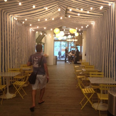 Photo taken at Brighton (Intelligencia/Go Burger/Fish Shack/Tiki Bar) by Kara M. on 8/3/2012