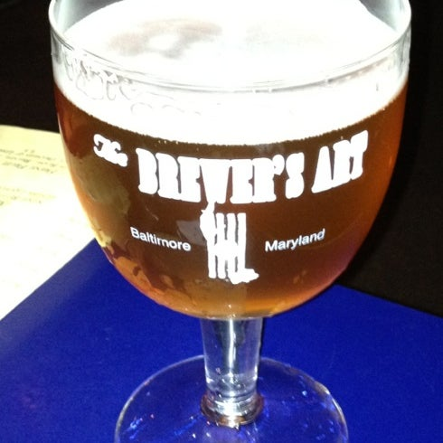 Photo taken at The Brewer's Art by Thomas H. on 5/1/2012