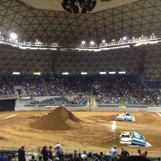 Photo taken at Bell County Expo Center by Sarah W. on 1/21/2012