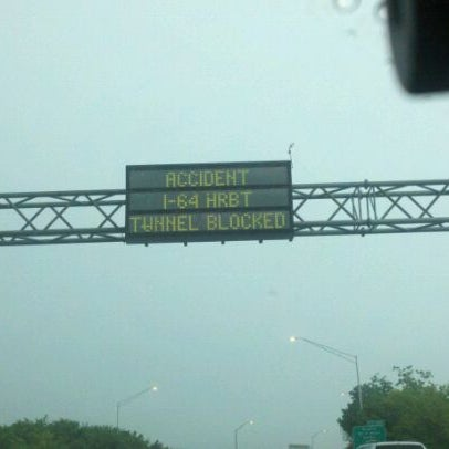 Photo taken at HRBT by Chris B. on 7/6/2011