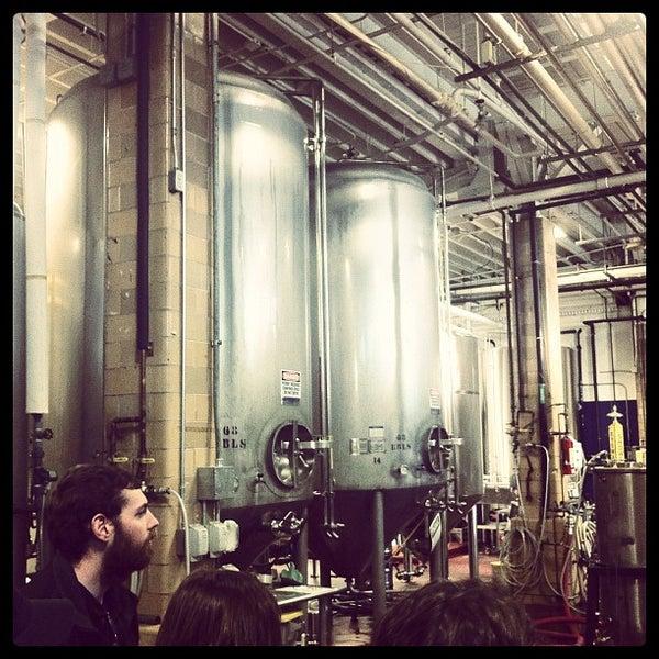 Photo taken at Samuel Adams Brewery by Brandon R. on 11/18/2011