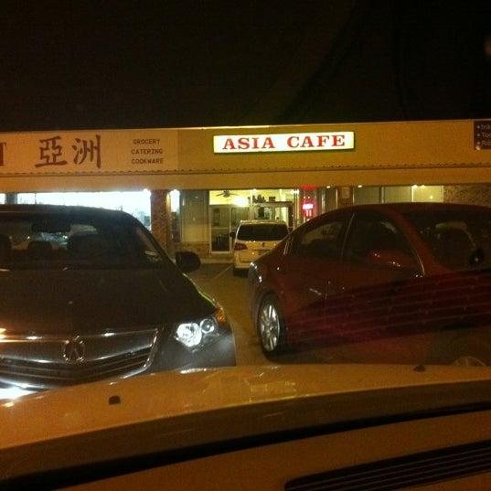 Photo taken at Asia Cafe by David B. on 3/17/2012