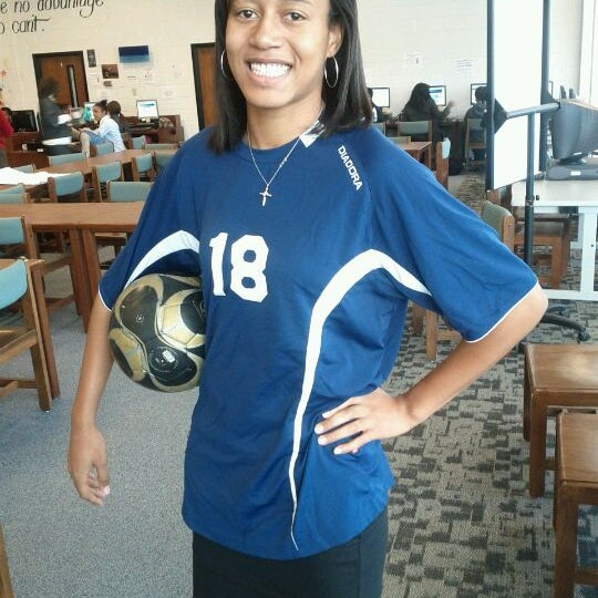 Photo taken at Lovejoy High School by Ceasar A. on 1/12/2012
