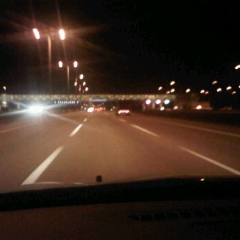 Photo taken at Veterans Memorial Tollway by Gina L. on 12/5/2011