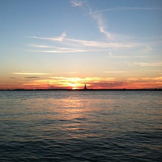 Photo taken at Louis Valentino Jr Park & Pier by Liz C. on 7/26/2012