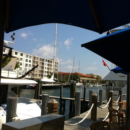 Photo taken at Bimini Boatyard Bar & Grill by Pam A. on 3/20/2011