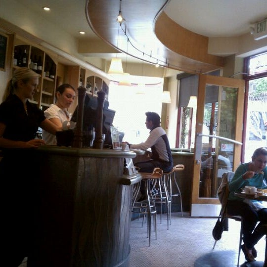 Photo taken at Caffe DeLucchi by NapaCruiseDir on 9/11/2011