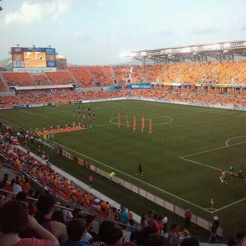 Photo prise au BBVA Compass Stadium par Alfredo R. le7/22/2012