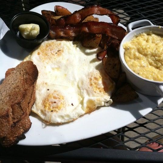 Photo taken at MOSAIC Restaurant Charleston by Katie G. on 4/8/2012