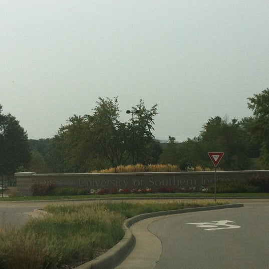 Photo taken at University of Southern Indiana by Chris M. on 8/16/2012
