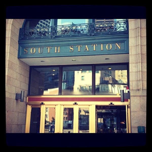Photo taken at South Station Terminal (MBTA / Amtrak) by Nicole C. on 8/9/2012