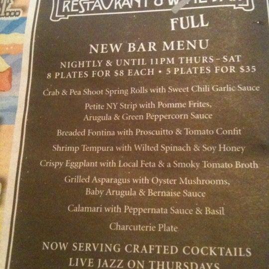 Photo taken at 315 Restaurant & Wine Bar by starr c. on 9/3/2011