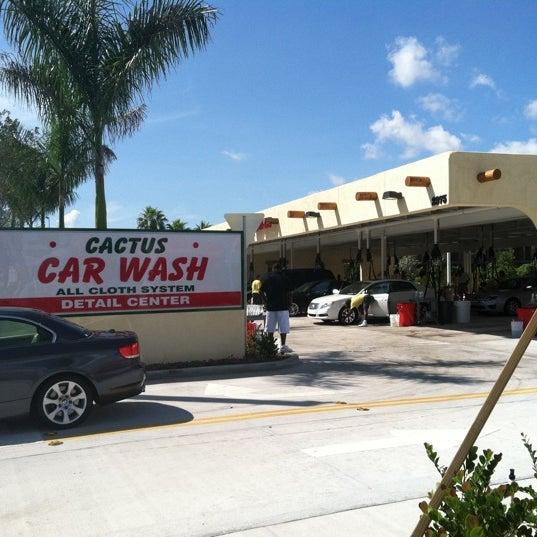 Cactus car wash ft lauderdale coupons