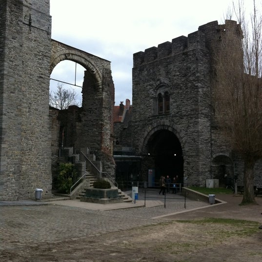 Photo taken at Castle of the Counts by Sergey D. on 2/6/2011