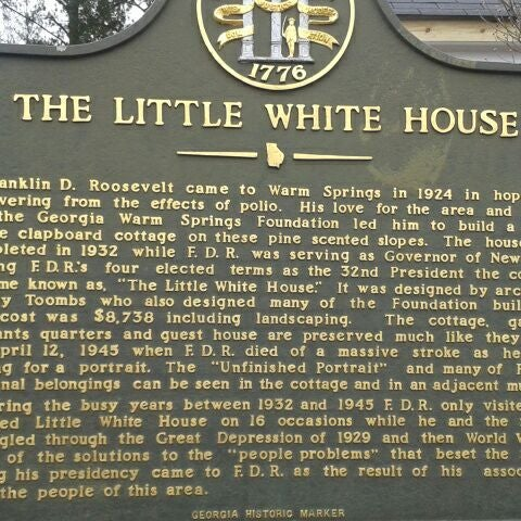 Photo taken at Roosevelt's Little White House Historic Site by Jennifer H. on 2/16/2012