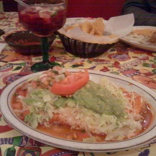 Photo taken at Los Toltecos by Astulia on 11/14/2011