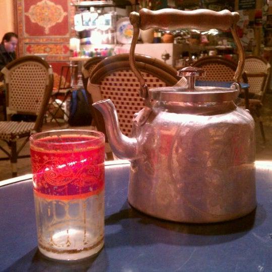 Photo taken at Casbah Café by Andy S. on 10/31/2011