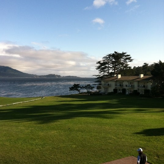 Photo taken at The Lodge at Pebble Beach by Bethany W. on 4/21/2011