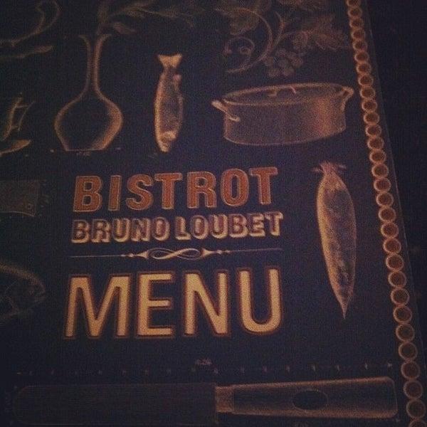 Photo taken at Bistrot Bruno Loubet by Leen S. on 11/14/2011