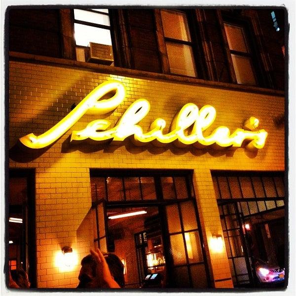 Photo taken at Schiller's Liquor Bar by Marceli L. on 8/27/2012