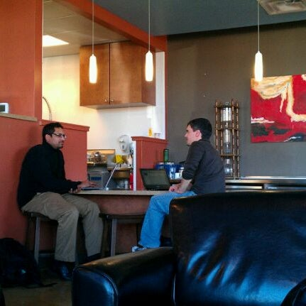 Photo taken at Avoca Coffee by Catheleen J. on 1/5/2012