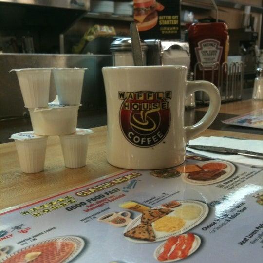 Photo taken at Waffle House by Kara M. on 11/2/2011
