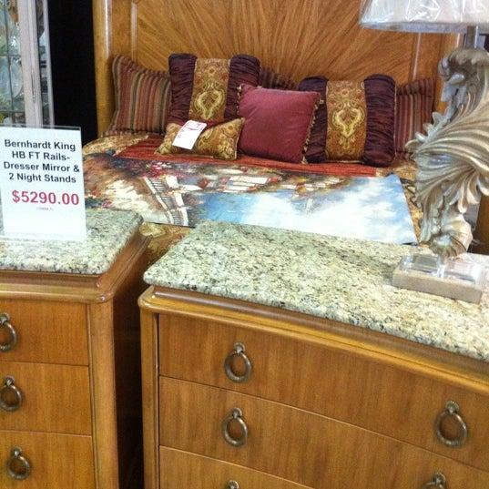 Photo Taken At Deja Vu Consignment Furniture By Carmen B. On 6/14/