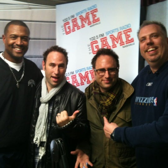 Photo taken at 102.5 The Game by Austin H. on 11/15/2011